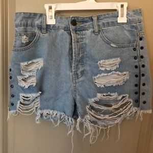 Sexy Ripped Shorts—Forever 21